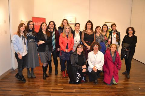 Exposición ARTSGráfica Mujer Fundación Cámara