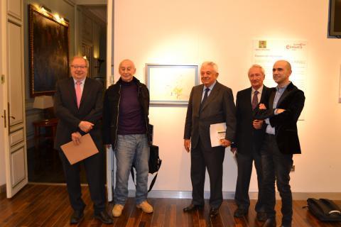 Exposición dibujos García Márquez Fundación Cámara