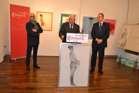Inauguración expo Despoblado Fundación Cámara