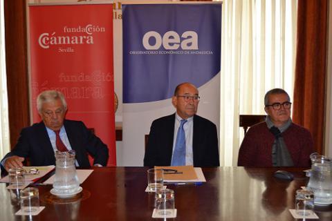 Presentación Informe economía Andaluza 2 Fundación Cámara
