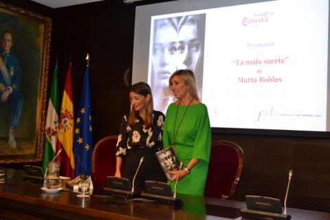 Presentación Marta Robles Suerte Fundación Cámara