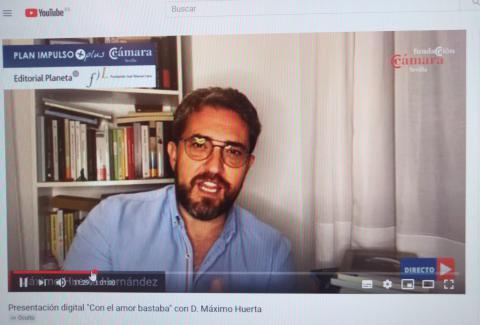 Presentación Máximo Huerta Cámara de comercio