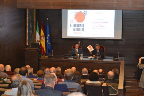 Presentación Pedro Baños Fundación Cámara